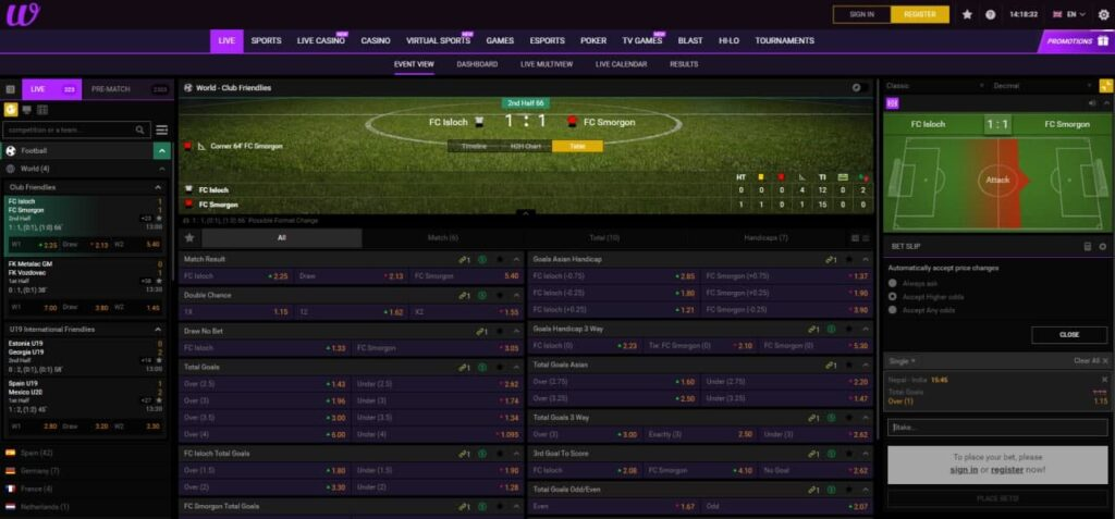 winf bet: sports betting online
